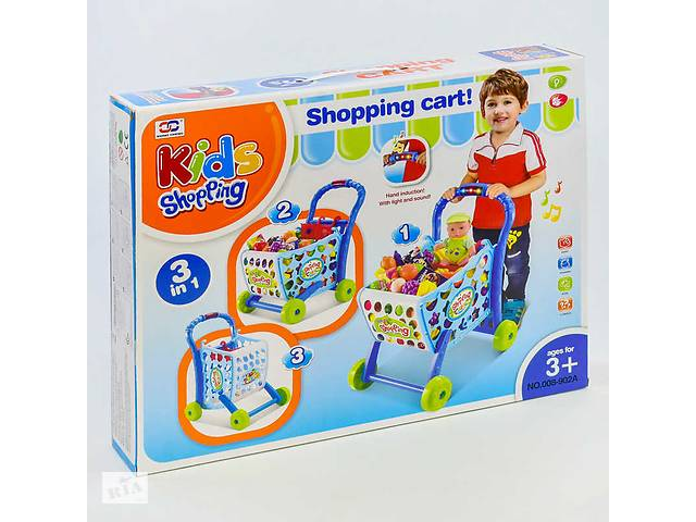 Игровой набор Супермаркет со светом, музыкой и тележкой с продуктами R182867- объявление о продаже  в Києві