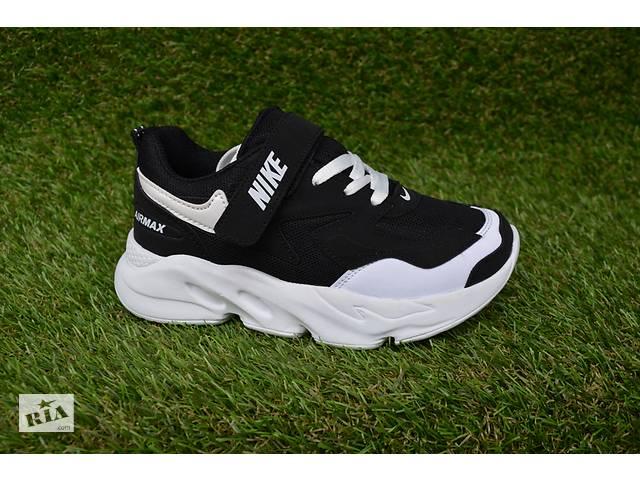 купить бу Детские кроссовки Nike Air Max Black найк аир макс черые р31-35 в Южноукраинске