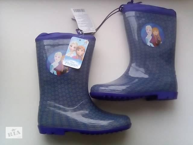 купить бу Детские резиновые сапоги на девочку! Новые резиновые сапожки! Сапоги резиновые новые! Детская обувь! в Днепре (Днепропетровск)