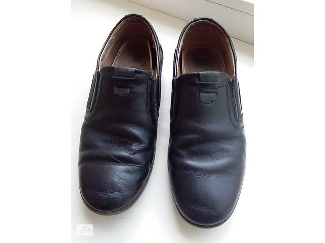 продам Кожаные туфли на мальчика  бу в Виннице