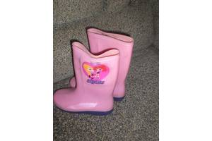 б/в Дитячі гумові чобітки