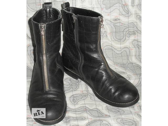 Сапожки демисезонные подростковые кожаные разм. 35- объявление о продаже в  Хмельницком 6f84008b467c3