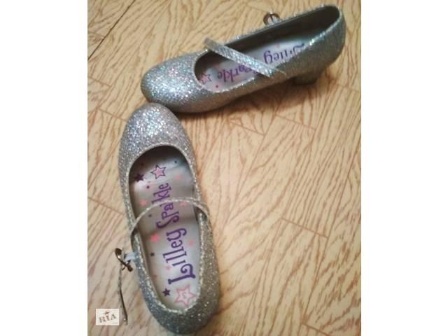 51d851520bf56a бу Туфли блестящие на каблуках в Житомирі. Підкатегорія Дитяче взуття ...