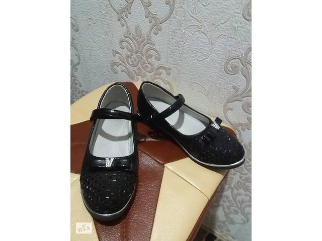 Туфли /туфли черные на девочку 29 р.- объявление о продаже  в Виннице