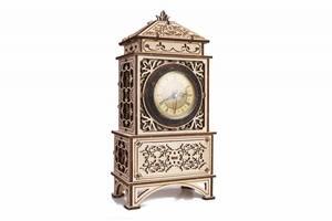 """3D пазл """"Классические часы"""" деревянный конструктор"""