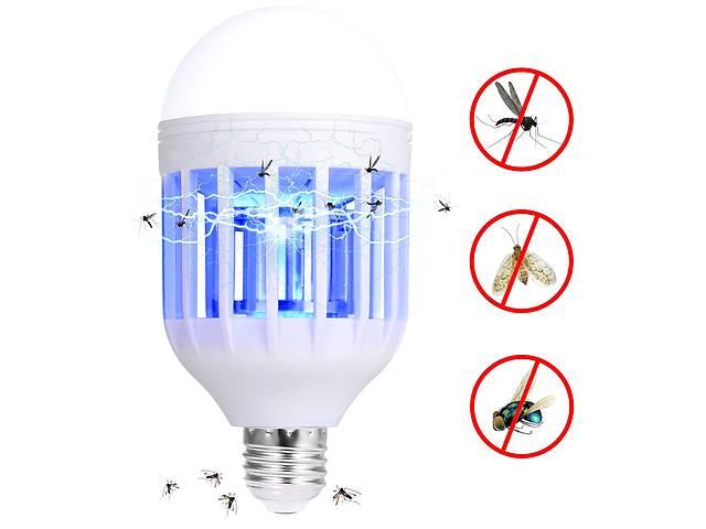 бу Антимоскитная светодиодная лампочка E27 / B22 - 2 в 1 против комаров, москитов, мошек фумигатор в Одессе
