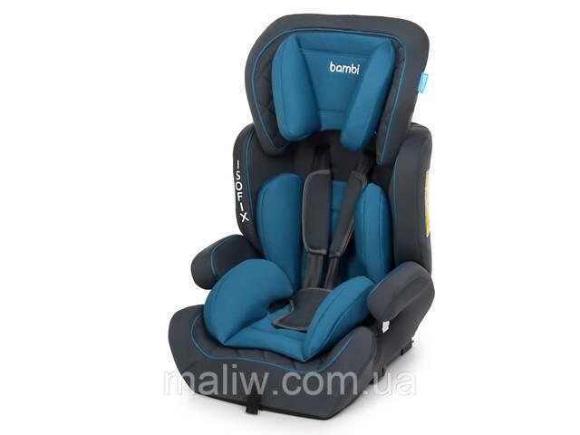 купить бу Автокресло Bambi M 4250 9-36 кг Isofix Blue  в Украине