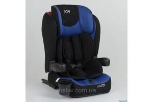 Автокресло детское Joy 43098 система ISOFIX черно-синее