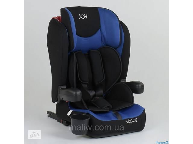 продам Автокресло детское Joy 43098 система ISOFIX черно-синее бу в Одессе