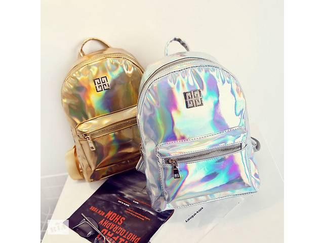 продам Блестящий женский рюкзак бу в Днепре (Днепропетровск)