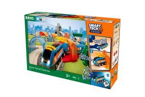 Большая детская железная дорога BRIO Smart Tech (33972)