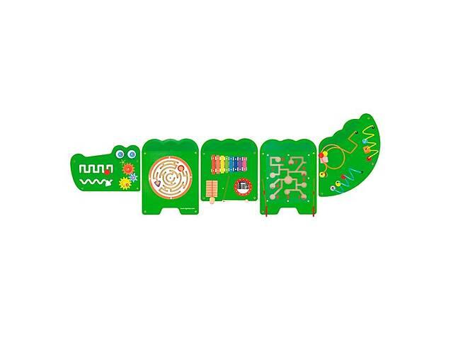купить бу Бизиборд Viga Toys Крокодил, 5 секций (50346) в Киеве