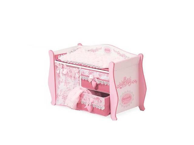 Деревянная игрушка Кровать для куклы Kronos Toys 54421 одеяло подушка (int_54421)- объявление о продаже  в Киеве