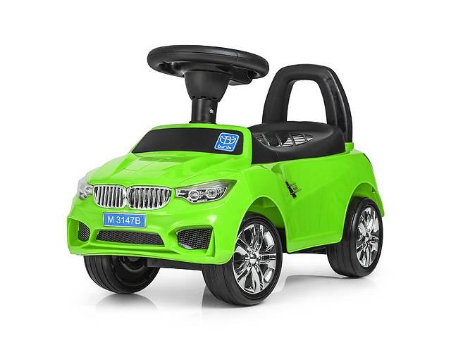 бу Детская каталка-толокар Bambi  M 3147B(MP3)-5 BMW зеленый в Одессе