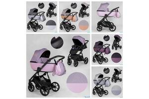 Дитяча коляска 2 в 1 Expander DEXO водовідштовхувальна тканина + еко-шкіра