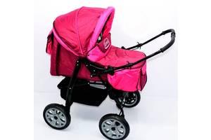 Детская коляска Viki Karina 86- C 40 малиновый