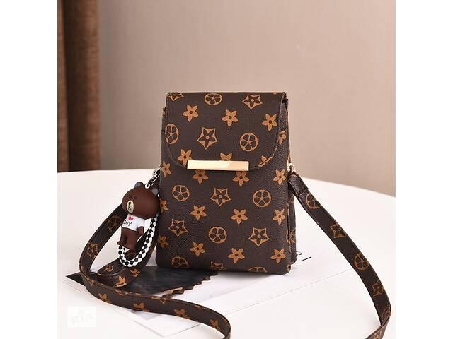 продам Детская мини сумочка клатч в стиле Луи Витон, маленькая сумка кошелек для девочек, детский клатч-кошелек бу в Днепре (Днепропетровск)