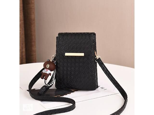 Детская мини сумочка клатч в стиле Луи Витон, маленькая сумка кошелек для девочек, детский клатч-кошелек Черный- объявление о продаже  в Днепре (Днепропетровск)