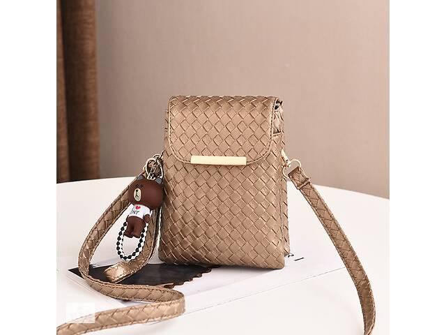 продам Детская мини сумочка клатч в стиле Луи Витон, маленькая сумка кошелек для девочек, детский клатч-кошелек Золотистый бу в Днепре (Днепропетровск)