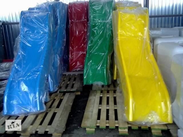 Детская пластиковая горка 1200 мм- объявление о продаже  в Киеве