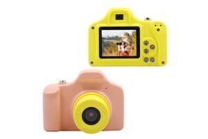"Детская цифровая фото-видео камера 1.5"" LCD UL-1201 |1080P, 5MP Pink"