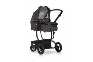 Детская универсальная коляска без сумки 2 в 1 EasyGo Soul, графит (6240)