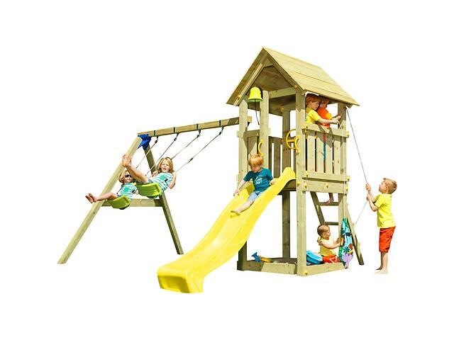 Детская игровая площадка KBT Blue Rabbit KIOSK + SWING Желтый