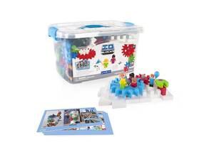 Детский конструктор для обучения Guidecraft IO Blocks Tabletop System, 118 деталей
