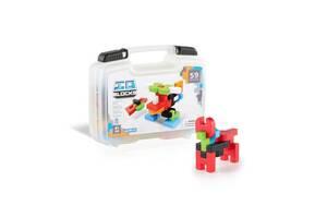 Детский конструктор пластмассовый магнитный Guidecraft IO Blocks Дорожный набор, 59 деталей