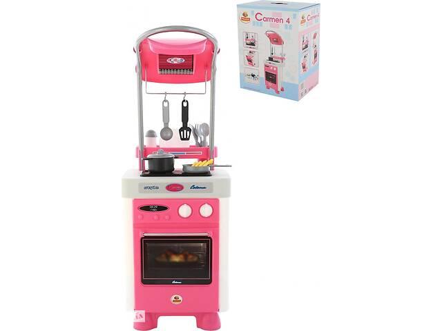 купить бу Детский кухонный набор Polesie Carmen №4 с варочной панелью и духовым шкафом, розовая в Киеве