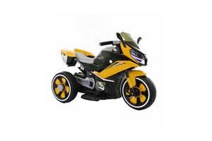 Детский мотоцикл T-7228 желтый