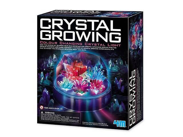 Детский набор для химических опытов 4M Выращивание цветных кристаллов. Интересные подарки для детей- объявление о продаже  в Киеве