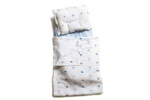 Детский набор в коляску Twins Муслин (плед, подушка, наматрасник на резинке), Подарок на выписку из роддома