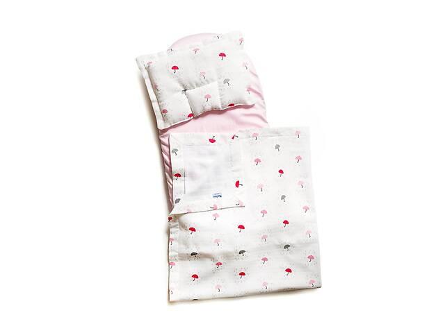 продам Детский набор в коляску Twins муслин (плед, подушка, наматрасник на резинке), Подарок на выписку из роддома бу в Киеве