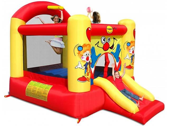 продам Детский надувной игровой центр батут Happy Hop Жонглёр с насосом (bat_9304Y) бу в Києві