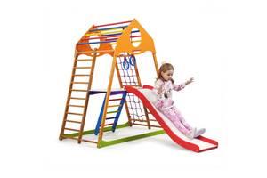 Дитячий спортивний комплекс для будинку SportBaby KindWood Plus 2