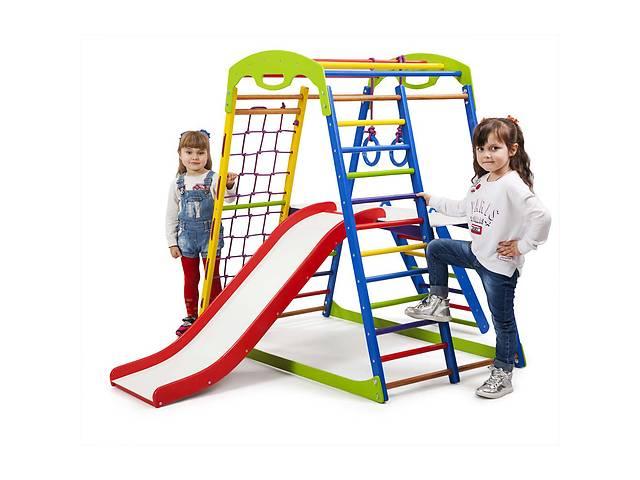 Детский спортивный комплекс для дома SportWood  Plus 2 SportBaby