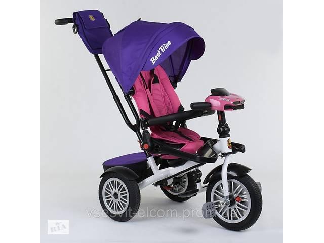 бу Детский велосипед трехколёсный с откидной спинкой для сна и с поворотным сиденьем Best Trike  9288 В - 7598  в Украине
