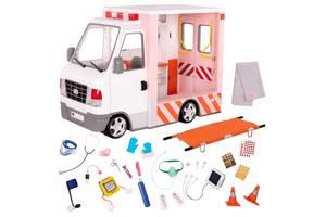 Детский игровой набор для кукол Our Generation Скорая помощь (BD37959Z)
