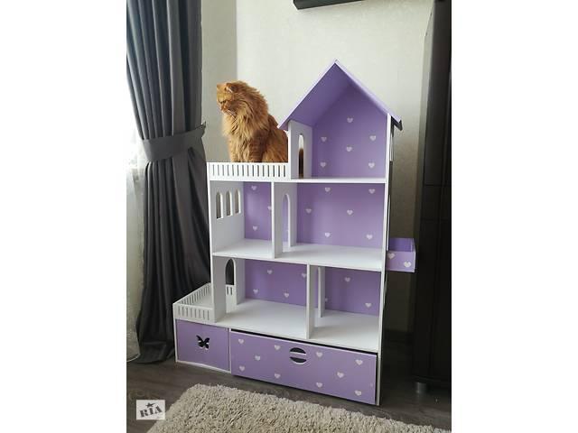 продам Домик для кукол, кукольный домик для Барби, игрушечный домик, деревянный домик бу в Мелитополе