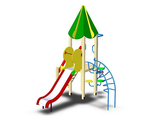 бу Детская площадка, игровой комплекс в Тернополе