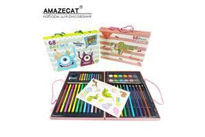 Детский набор для рисования и творчества AmazeCat с наклейками