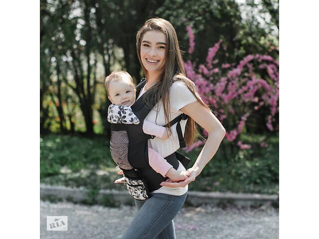 продам Эрго - рюкзак детский с регулируемым сиденьем Дейзи Love & Carry, черный бу в Киеве