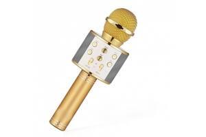 КараокемикрофонWS-858 (WS-858(Gold))