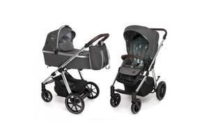 Коляска Baby Design 2 в 1 Bueno 117 GRAPHITE (203558)