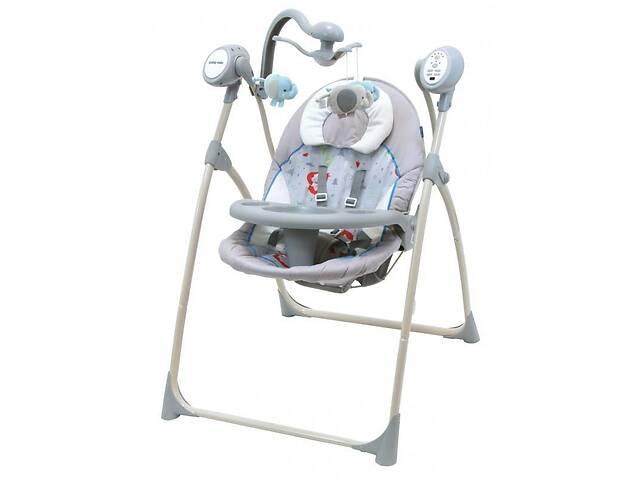 продам Колыбель качели для новорожденных Baby Mix SW102RC, серый. Подарок родителям на рождение ребенка бу в Киеве