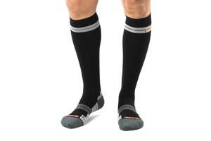 Компресійні спортивні шкарпетки Relaxsan 3L Чорні/Оранжеві 800