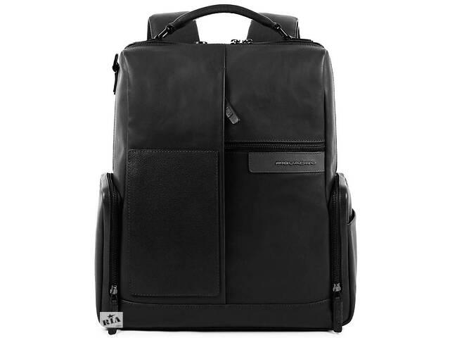 Кожаный городской рюкзак Piquadro Vanguard черный 22 л- объявление о продаже  в Киеве