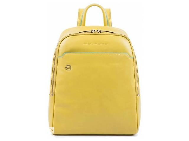 Кожаный рюкзак Piquadro ca4233b2 g5, женский, желтый, 6л- объявление о продаже  в Киеве