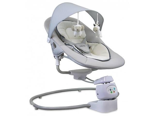 продам Кресло качалка для новорожденных Шезлонг Baby mix Alexis BY002, бежевое (5817) Подарок на выписку из роддома бу в Киеве